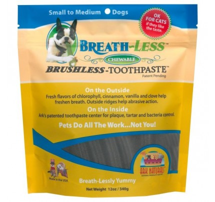 Breath-Less Brushless Toothpaste for Pets 12oz.