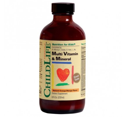 Multi Vitamin & Mineral 8 fl. oz.