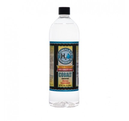 Cobalt Ionic Mineral Water 30 ppm 32 fl. oz.
