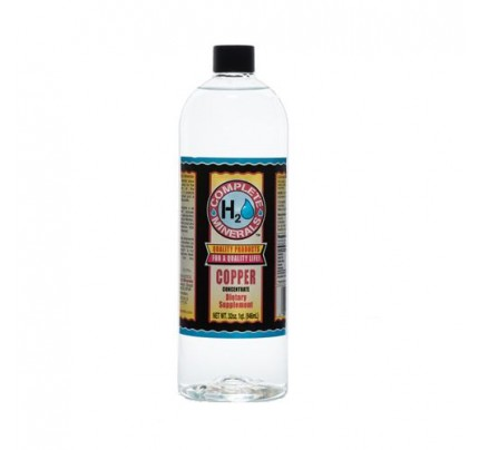 Copper Ionic Mineral Water 75 ppm 32 fl. oz.