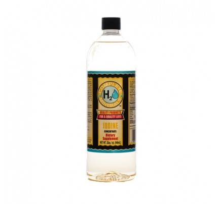 Iodine Ionic Mineral Water 15 ppm 32 fl. oz.