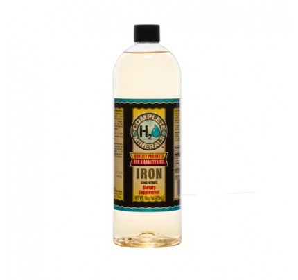 Iron Ionic Mineral Water 10 ppm 32 fl. oz.