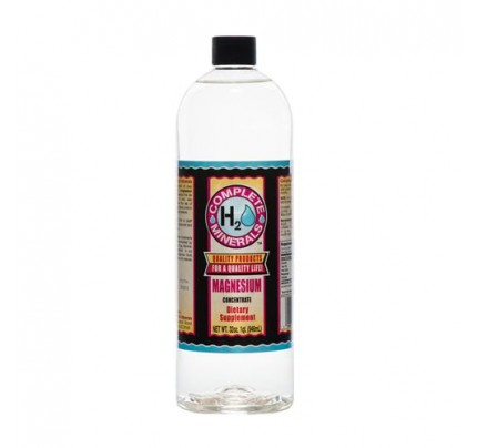 Magnesium Ionic Mineral Water 1,200 ppm 32 fl. oz.