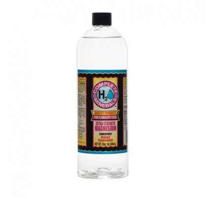 Magnesium Ionic Mineral Water Extra Strength 4x Concentrate 4,800 ppm 32 fl. oz.