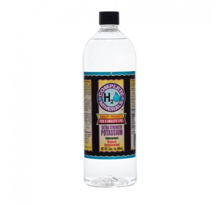 Potassium Ionic Mineral Water Extra Strength 4x Concentrate 4,000 ppm 32 fl. oz.