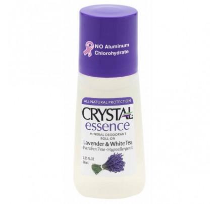 Mineral Deodorant Roll On Lavender & White Tea 2.25oz.
