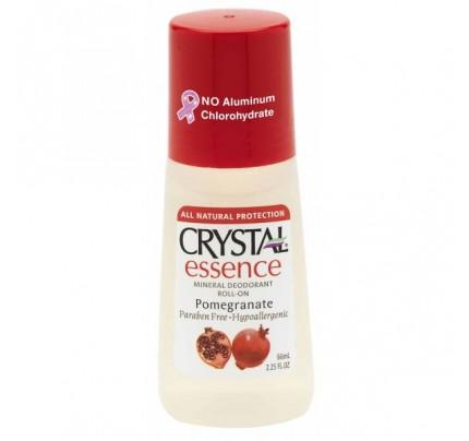 Mineral Deodorant Roll-On Pomegranate 2.25oz.