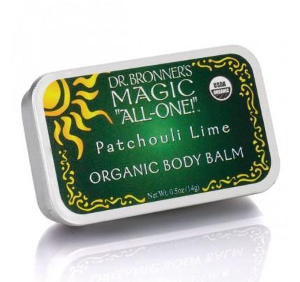 All-One Organic Body & Tattoo Balm Patchouli Lime 0.5 oz.