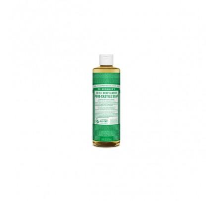 Organic 18-in-1 Hemp Pure Castile Liquid Soap Almond 16 fl. oz.