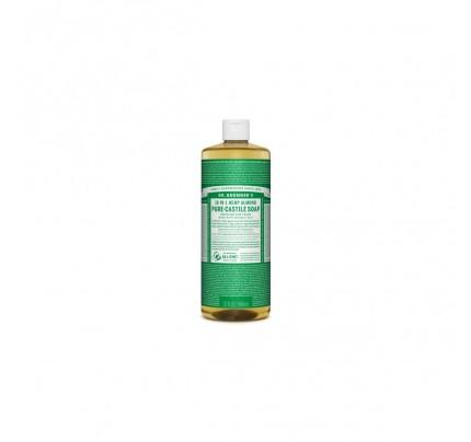 Organic 18-in-1 Hemp Pure Castile Liquid Soap Almond 32 fl. oz.