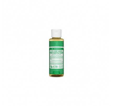 Organic 18-in-1 Hemp Pure Castile Liquid Soap Almond 4 fl. oz.