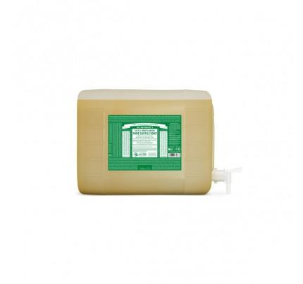 Organic 18-in-1 Hemp Pure Castile Liquid Soap Almond 5 Gallons
