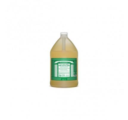 Organic 18-in-1 Hemp Pure Castile Liquid Soap Almond Gallon