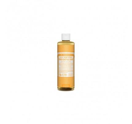 Organic 18-in-1 Hemp Pure Castile Liquid Soap Citrus Orange 16 fl. oz.