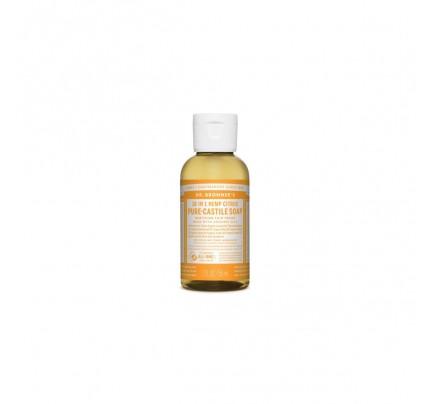 Organic 18-in-1 Hemp Pure Castile Liquid Soap Citrus Orange 2 fl. oz.