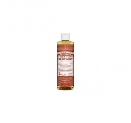 Organic 18-in-1 Hemp Pure Castile Liquid Soap Eucalyptus 16 fl. oz.
