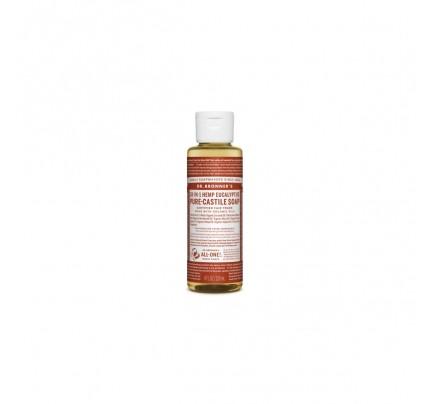 Organic 18-in-1 Hemp Pure Castile Liquid Soap Eucalyptus 4 fl.  fl. oz.