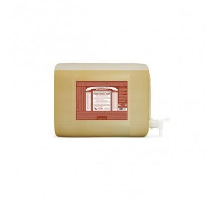 Organic 18-in-1 Hemp Pure Castile Liquid Soap Eucalyptus 5 Gallons
