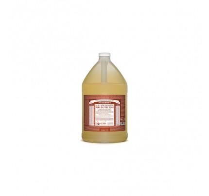 Organic 18-in-1 Hemp Pure Castile Liquid Soap Eucalyptus Gallon