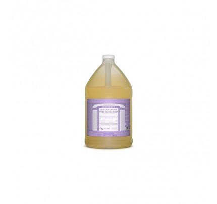 Organic 18-in-1 Hemp Pure Castile Liquid Soap Lavender Gallon