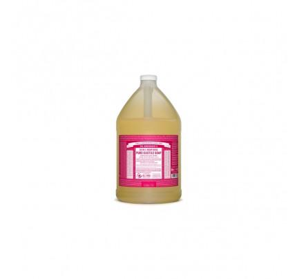 Organic 18-in-1 Hemp Pure Castile Liquid Soap Rose Gallon