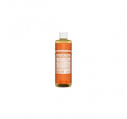 Organic 18-in-1 Hemp Pure Castile Liquid Soap Tea Tree 16 fl. oz.