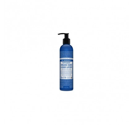 Organic Hand and Body Lotion Peppermint 8 fl. oz.