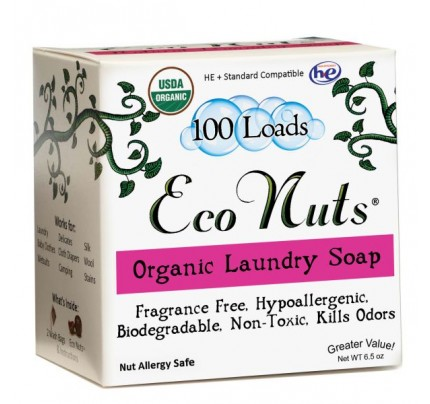 Organic Laundry Soap Nuts 100 Loads 6.5 oz.