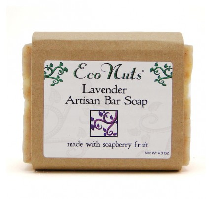 Soap Nut Body Bar Lavender Soap 4.3oz.