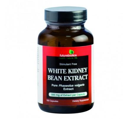 White Kidney Bean Extract 100 Capsules