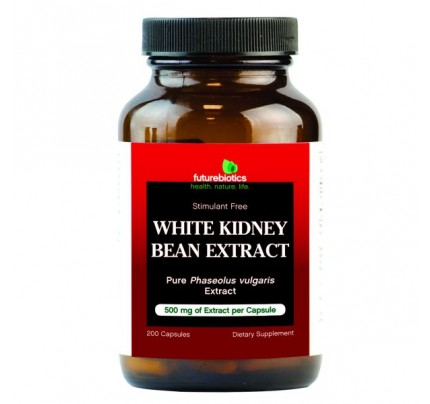 White Kidney Bean Extract 200 Capsules
