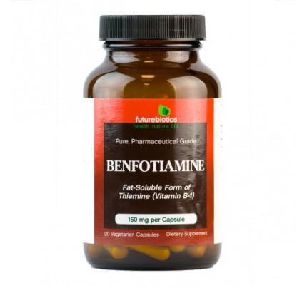 Benfotiamine 150 mg 120 Vegetarian Capsules