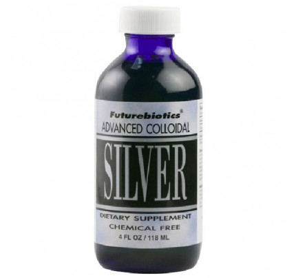 Colloidal Silver 120 ppm 4 fl. oz.