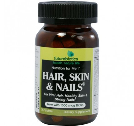 Hair, Skin & Nails for Men 75 Tablets
