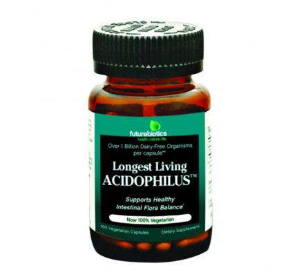 Longest Living Acidophilus 100 Capsules