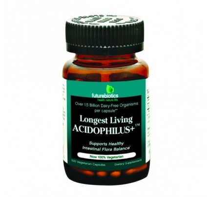 Longest Living Acidophilus Plus 100 Capsules