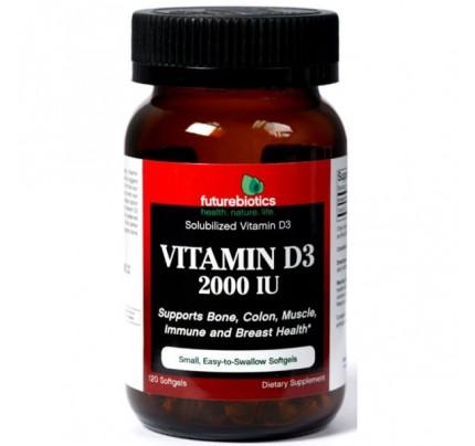 Vitamin D3 2000 IU 90 Softgels