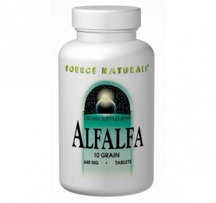 Alfalfa 108 mg Tablets