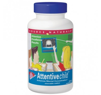 Attentive Child 300 mg Wafers & Tablets