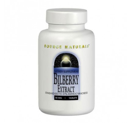 Bilberry Extract 50mg & 100mg Tablets