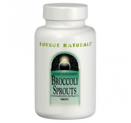 Broccoli Sprouts Standardized Extract 0.4% 250 mg with 1000 mcg Sulforaphane 60 Tablets