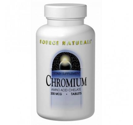 Chromium 200mcg Tablets