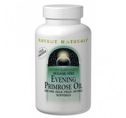 Evening Primrose Oil 500mg (50mg GLA) Softgels