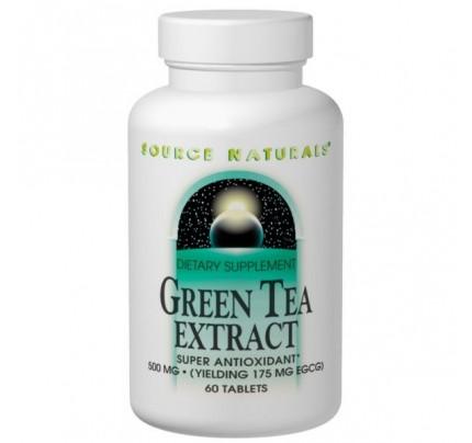 Green Tea Extract 100mg & 500mg Tablets