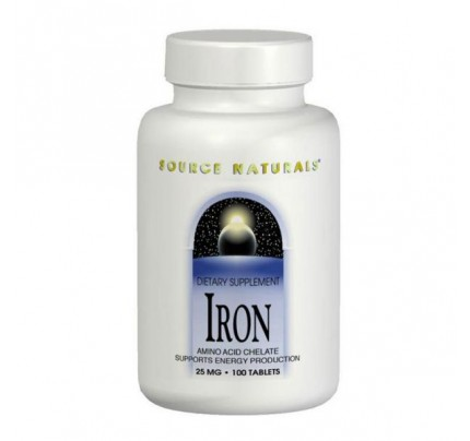 Iron 25mg Tablets