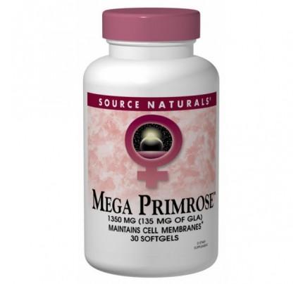 Mega Primrose 1,350mg Softgels