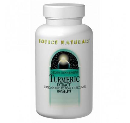 Turmeric Extract 95% Curcumin 350mg Tablets