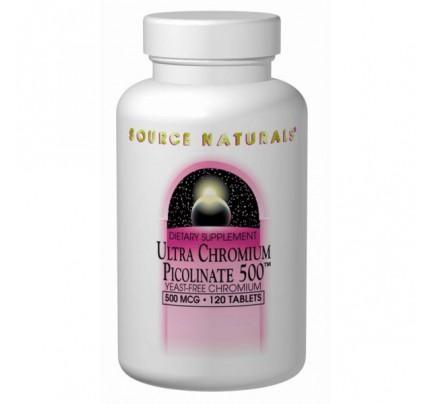 Ultra Chromium Picolinate 500 500 mcg Tablets