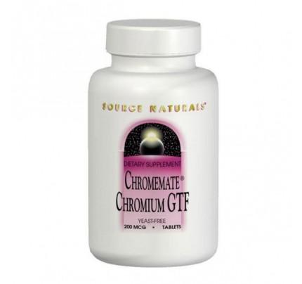 ChromeMate Chromium GTF 200 mcg Tablets
