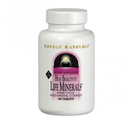 Life Minerals No Iron Tablets